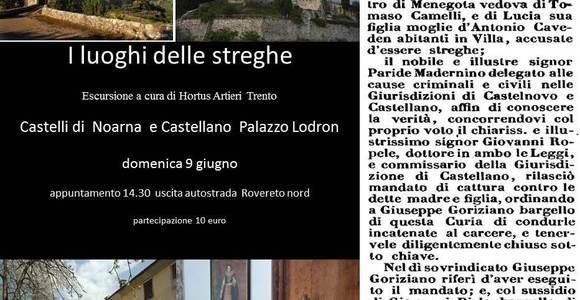 """""""I LUOGHI DELLE STREGHE"""" visita guidata domenica 9 giugno 2013"""