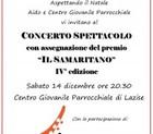 """Premio """"Il Samaritano"""" – quarta edizione"""