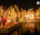 La luce di Betlemme illumina il porto