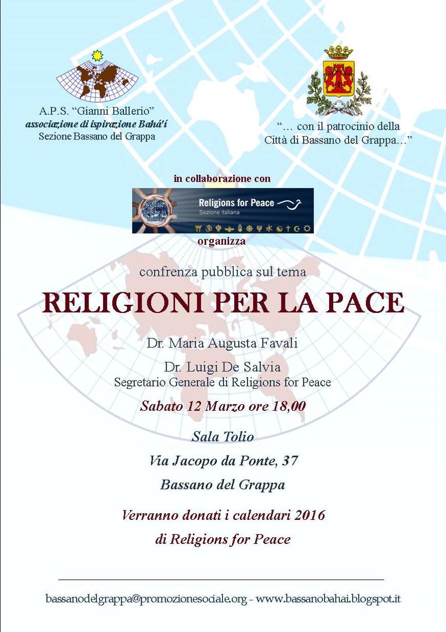 RELIGIONI PER LA PACE
