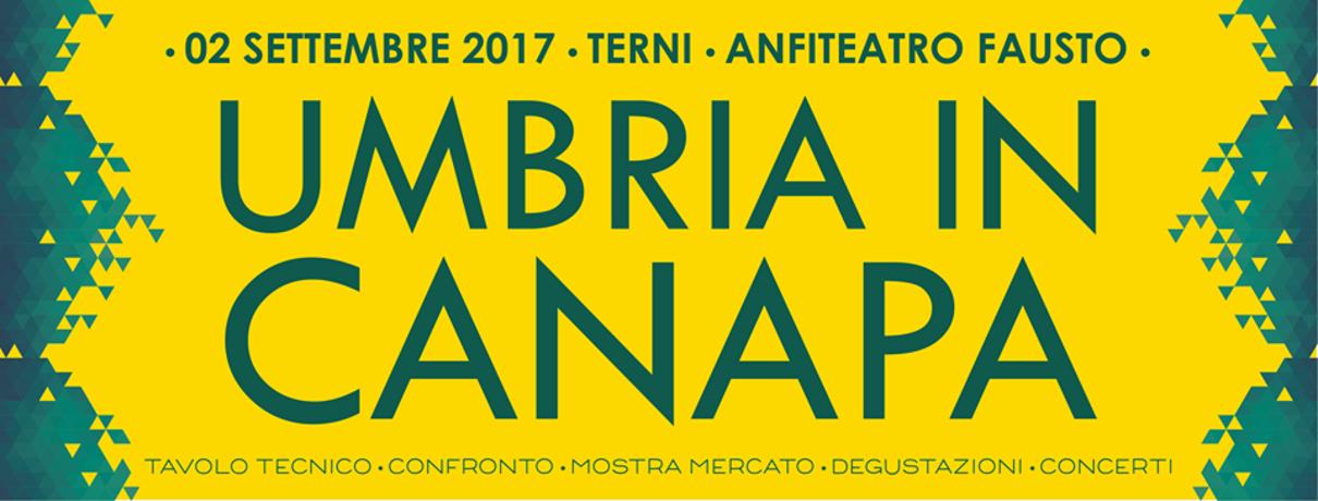 UMBRIA IN CANAPA /2017 - A TERNI L'EDIZIONE ZERO