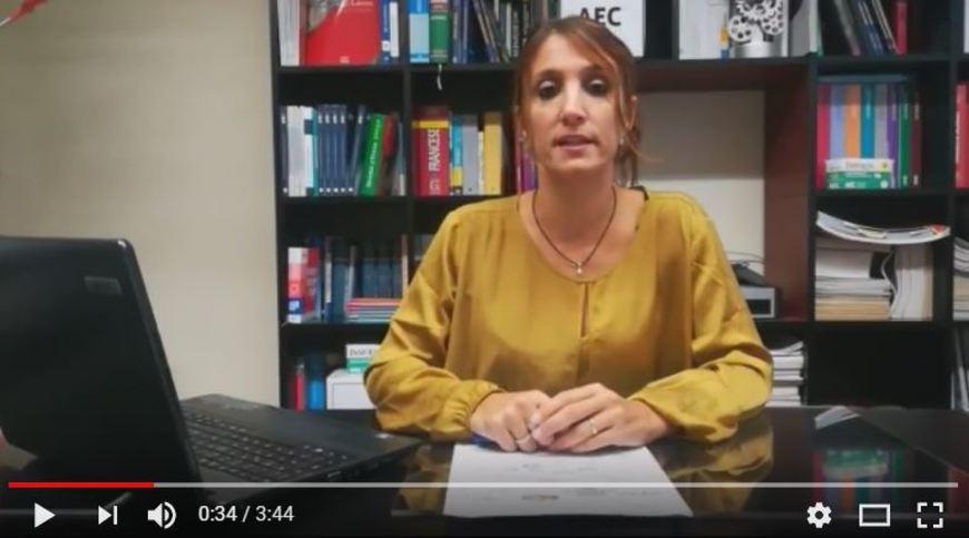 Silvia Pea (AEC) presenta ParcellaSicura®