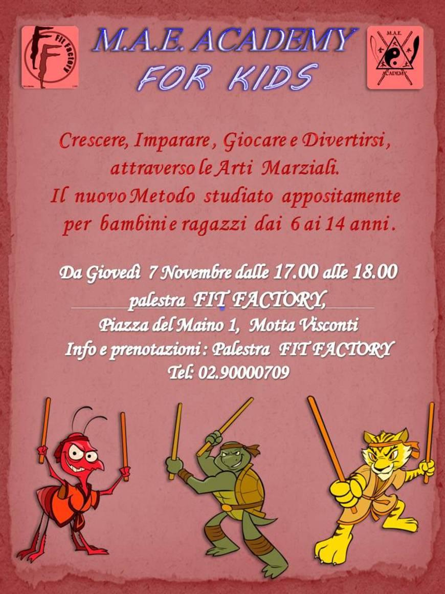 M.A.E. for KIDS