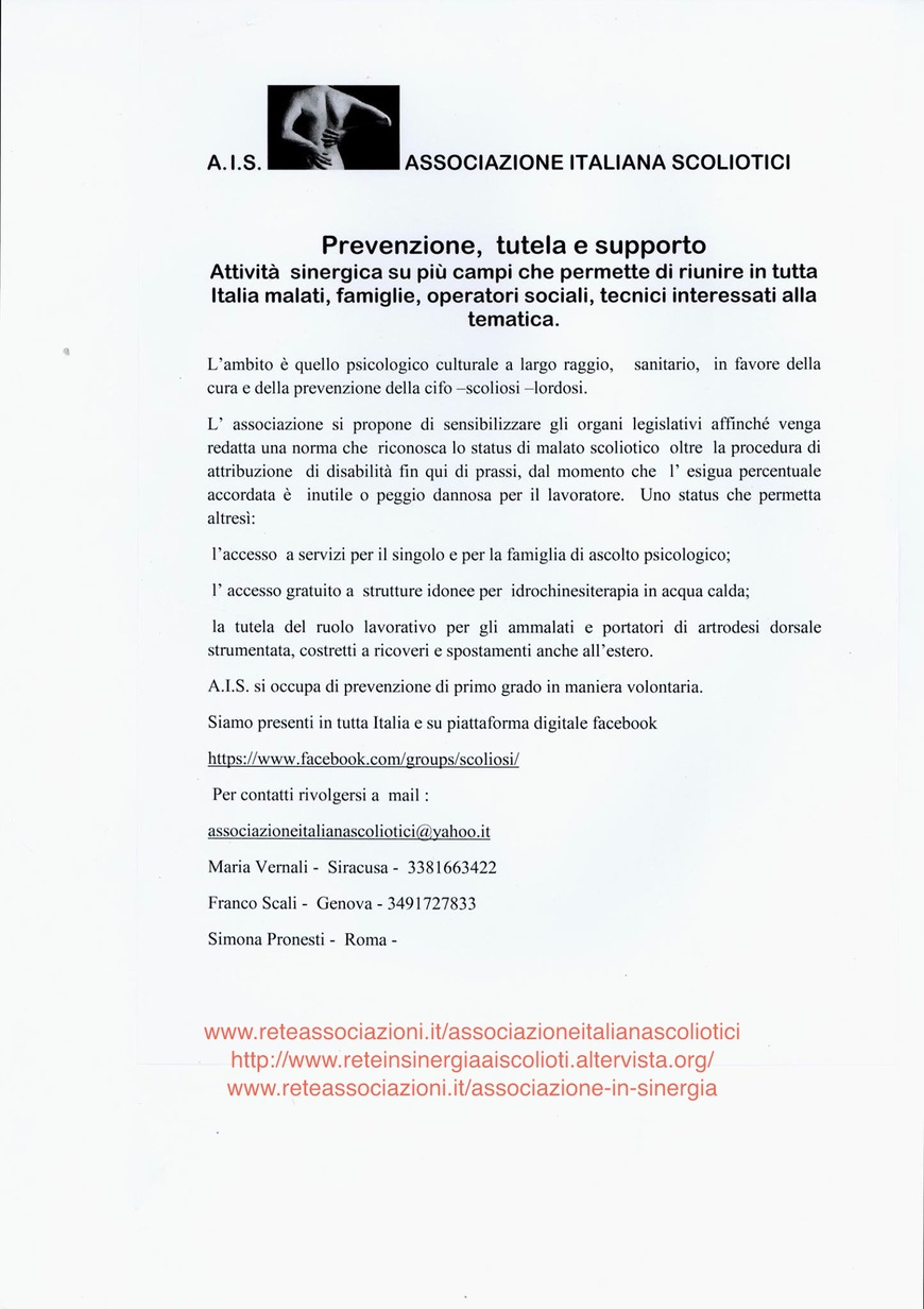 A.I.S - Prevenzione, Tutela e Supporto
