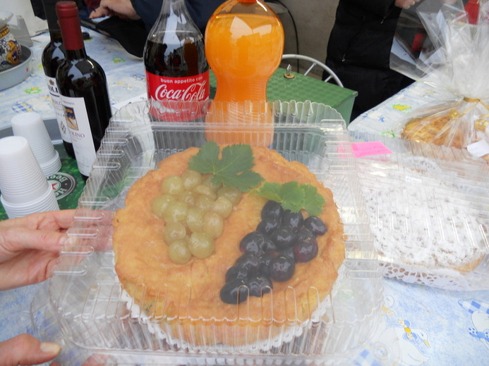 Una splendida torta