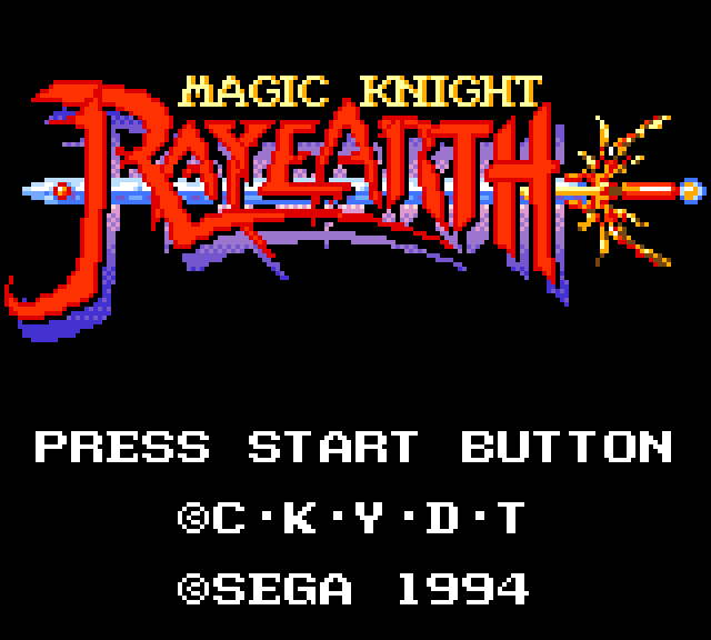"Game Gear ""Magic Knight Rayearth"" Translation finished after 10 years of development"