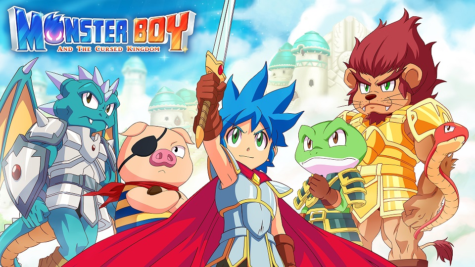 Monster Boy and the Cursed Kingdom Release Nov 6th, $40