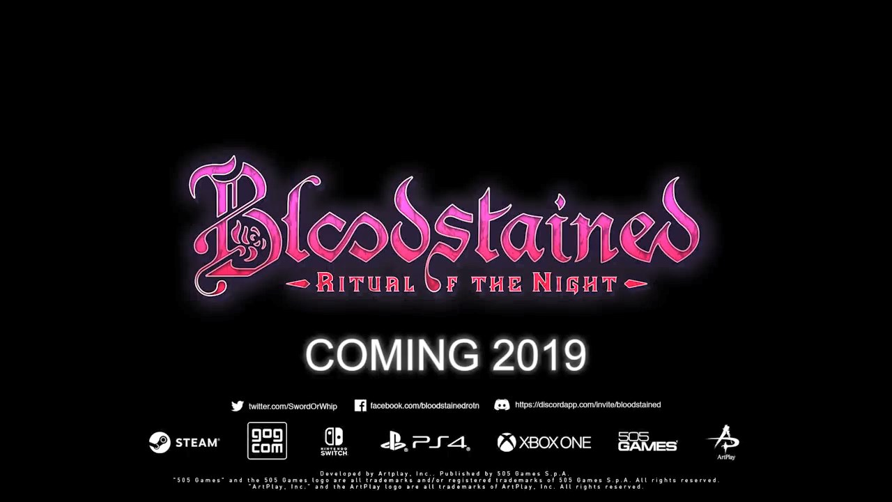 Bloodstained: Ritual of the Night – Delayed, Vita Version Cancelled