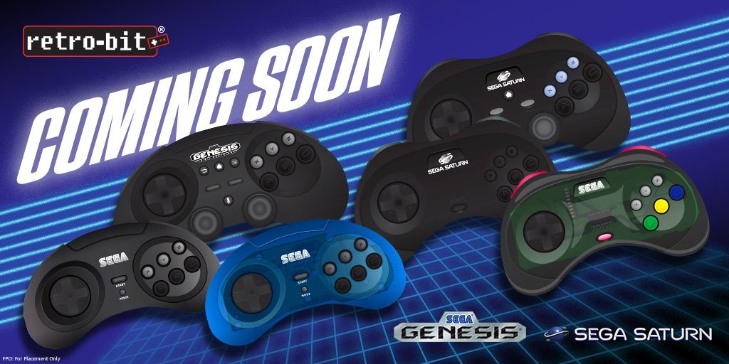 Retrobit to Show Officially Licensed Sega Products at Gamescon