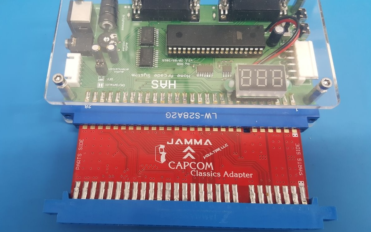 Voultars Capcom Classics Adapter Retrorgb Icade Jamma Wiring Harness Voultar Just Showed Off An Upcoming That Allows You To Connect Classic Arcade Games A Or Supergun