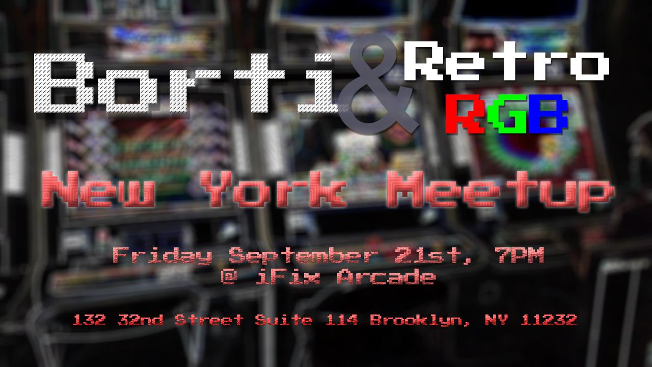 Meetup with Borti at iFixArcade
