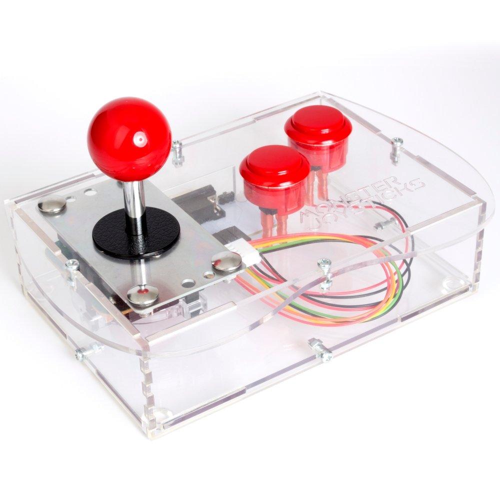 Monster Joysticks' Mini arcade stick for retro systems