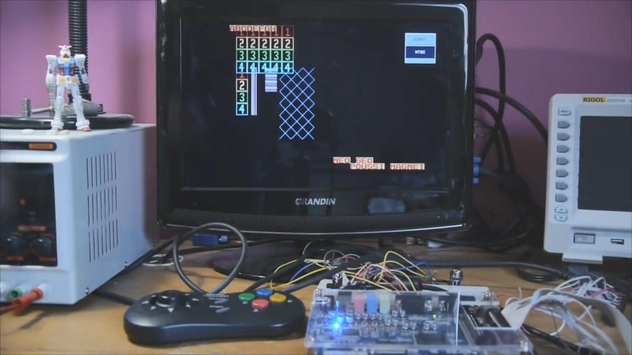 Neo Geo FPGA Core Update
