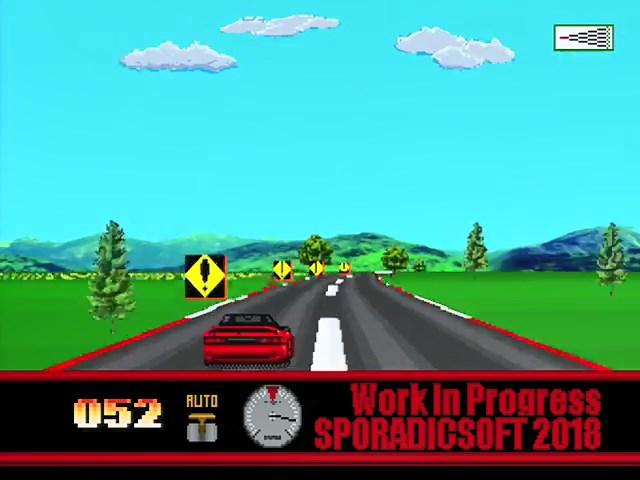 New Jaguar Homebrew Arcade Racer