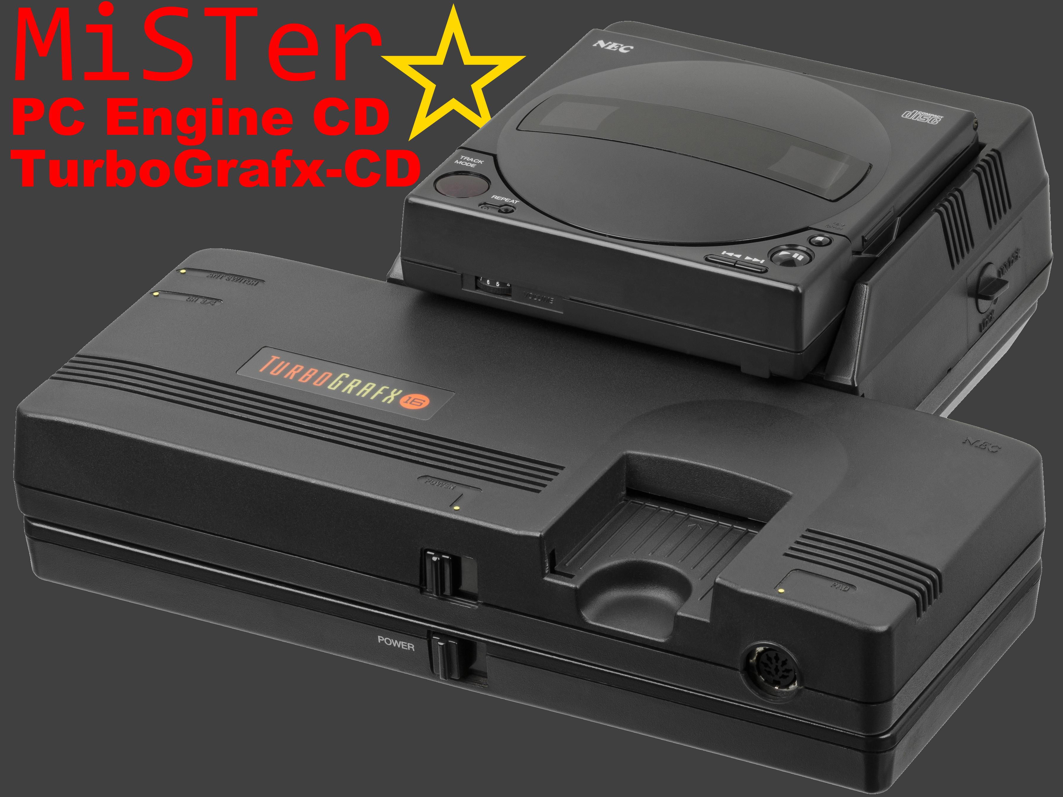 MiSTer PC Engine CD & TurboGrafx-CD Begins