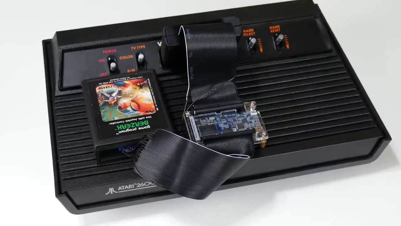 DIY Game Genie for Atari 2600