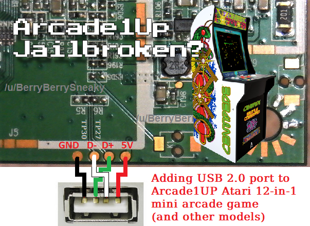 "Arcade1Up ""Jailbroken""???"