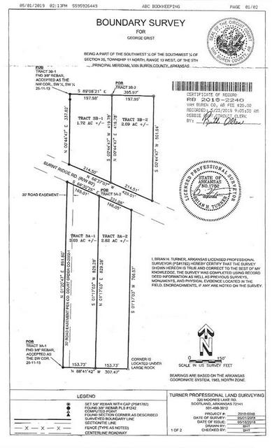 1.72 ACRES BURNT RIDGE ROAD, Shirley, AR 72153 - Photo 1