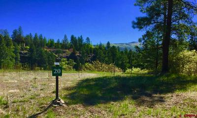 71 CLIFFS EDGE DR LOT 20, Durango, CO 81301 - Photo 2