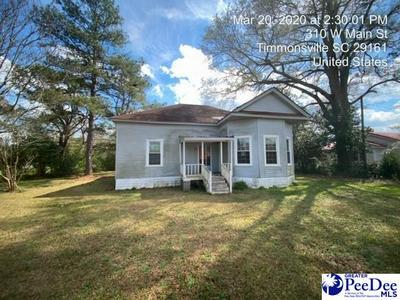 310 W MAIN ST, Timmonsville, SC 29161 - Photo 1