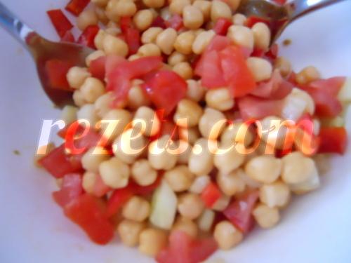 receta de ensalada de garbanzos por Elena