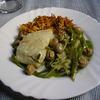 receta de bacalao salteado con champiñones y pimientos por arctarus