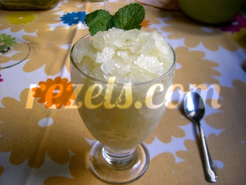 receta de sorbete de limón por arctarus