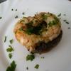 receta de champiñones a la plancha con langostinos  por atunara