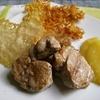 receta de solomillo con compota de manzana por inma