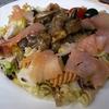 receta de ensalada de pasta y salmón por inma