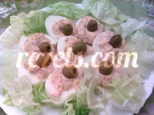 receta de huevos rellenos por atunara