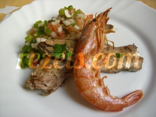 receta de caballa con piriñaca por inma