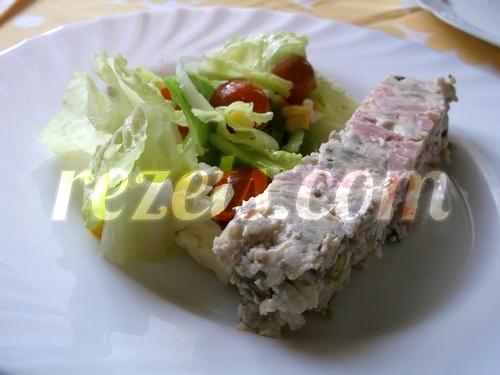 receta de pastel de pollo y jamón york por arctarus