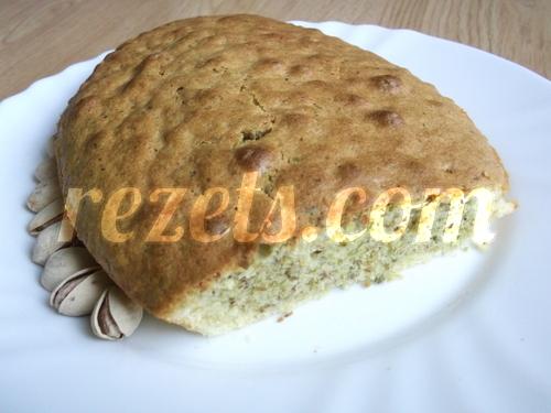 receta de bizcocho de pistachos por inma
