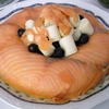 receta de pastel de salmón por Julia