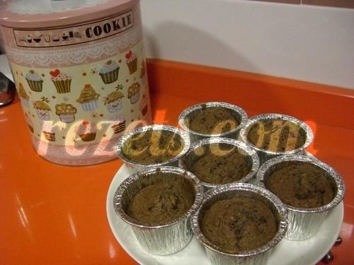 receta de magdalenas de chocolate y nueces por toscallita