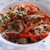 receta de ensalada de corazones de alcachofa y guisantes por arctarus