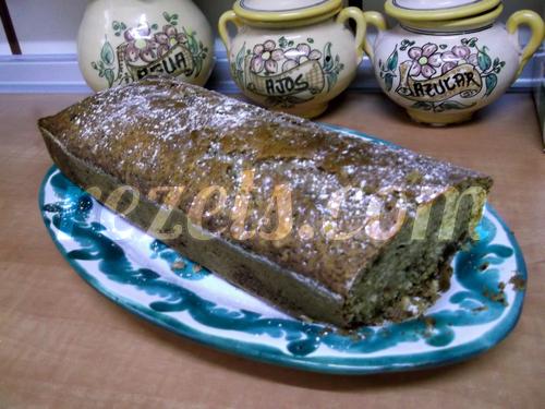 receta de plum-cake de frutos secos y especias por Julia