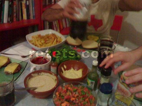 receta de hamburguesa de lentejas (veggie burguers) por irenet
