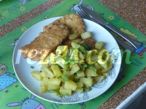 receta de filete empanado con korn flakes por torpas