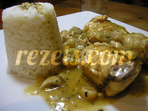 Pollo en Salsa Con Champiñones Receta de Pollo en Salsa de