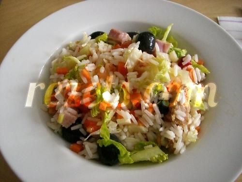 Receta de ensalada de arroz por arctarus - Ensalada de arroz light ...