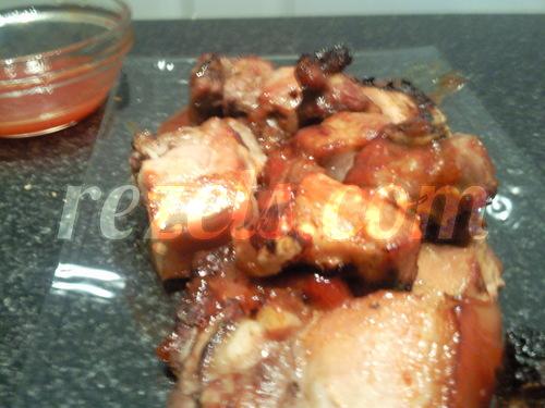 receta de costillas de cerdo a la barbacoa por Elena