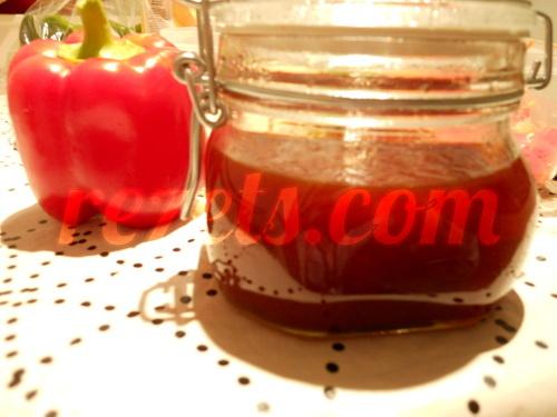Receta de mermelada de pimientos rojos por elena - Mermelada de pimientos rojos ...
