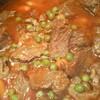 receta de carne guisada con guisantes y zanahorias baby por Elena
