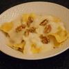 receta de raviolis de queso con salsa de pera por Elena