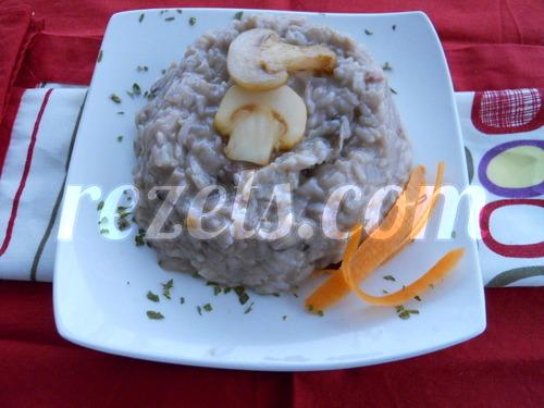 receta de risotto de setas variadas por Elena