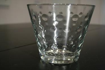 Hazel Atlas Clear Capri Glass Ice Bucket