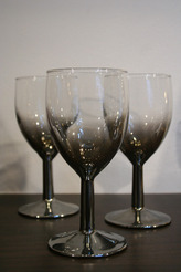 Silver Fade Sherry Glasses