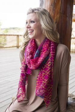 Magenta Magic Scarf